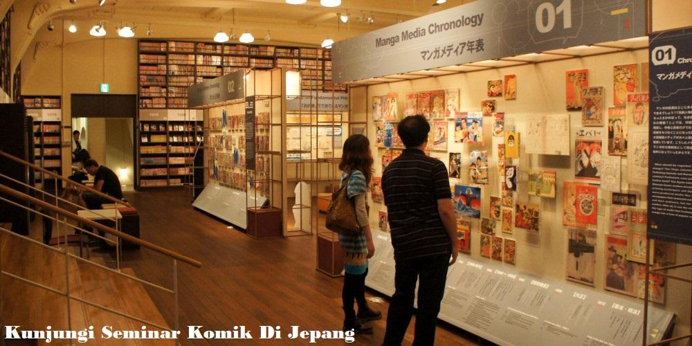 Kunjungi Seminar Komik Di Jepang