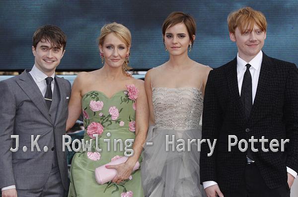 Biografi J.K. Rowling Penulis Novel Harry Potter